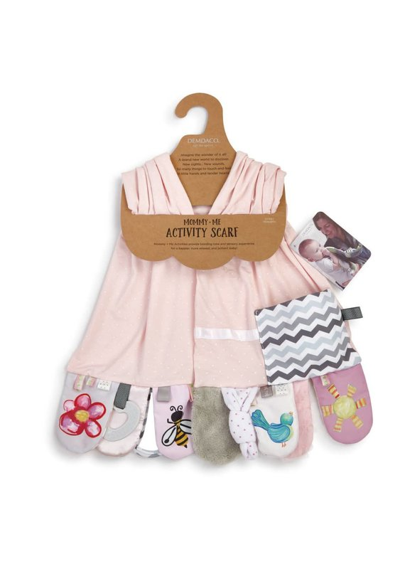 ****Mommy & Me Activity Scarf in Pink