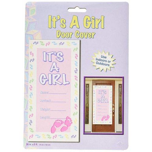 It's A Girl Door Cover
