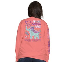***Long Sleeve Elephant Sunglow