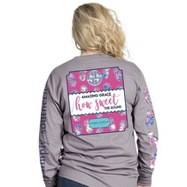 ***Long Sleeve Sweet Steel