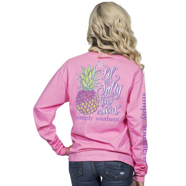 Long Sleeve Salty Flamingo