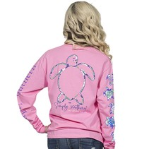 ***Long Sleeve Save LogoPRP Flamingo