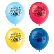 ***Paw Patrol 8ct latex balloons