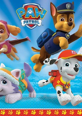 ***Paw Patrol Lunch Napkins 16ct