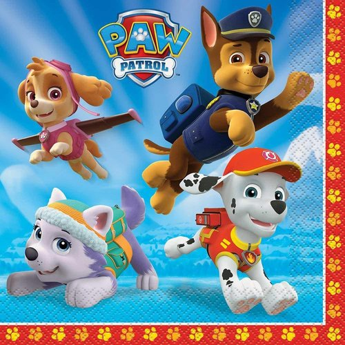 *Paw Patrol Lunch Napkins 16ct