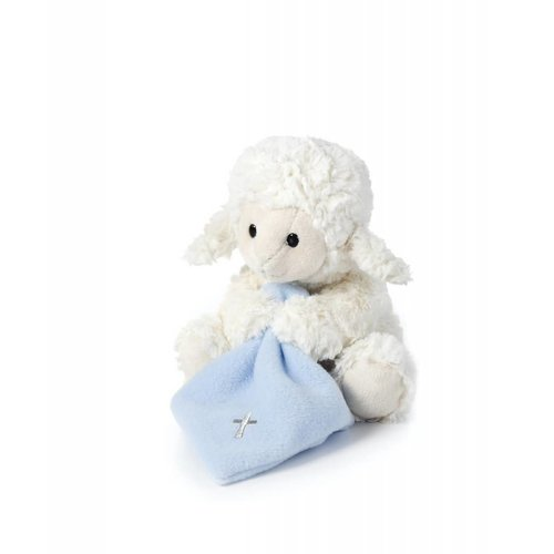 Blue Jesus Loves Me Lamb