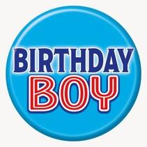 ***Birthday Boy Button
