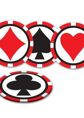 ***Casino Drink Coasters