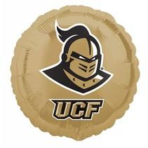 ***UCF Knights Gold Round Mylar Balloon