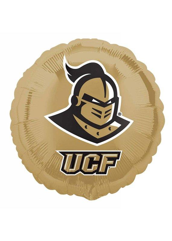 ****UCF Knights Gold Round Mylar Balloon