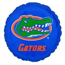 """***UF Gator 18"""" Round Blue Mylar Balloon"""