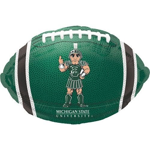 *Michigan State Spartans Football Mylar Balloon