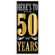 ***Here's to 50 Years Door Cover
