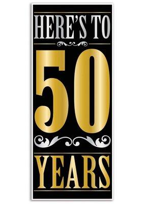 ***Here's to 50 Years Door Cover