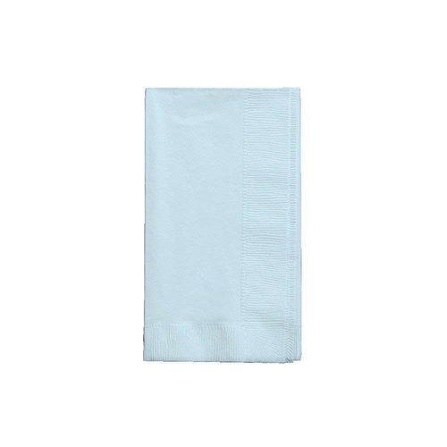 *Pastel Blue 3ply Guest Napkin 16ct