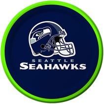 """***Seattle Seahawks 7"""" Dessert Plate"""