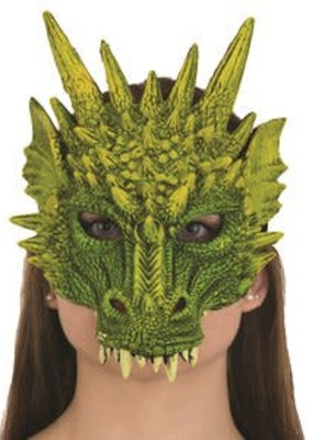 Jacobson Hat Company ***Dragon Mask Green Rubber