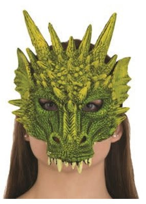 Jacobson Hat Company ****Dragon Mask Green Rubber