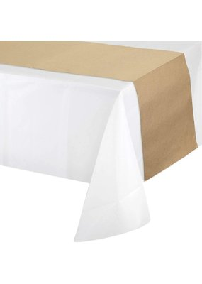 ***Kraft Paper Table Runner