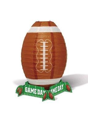 "***Football Game Day 11"" Lantern Centerpiece"
