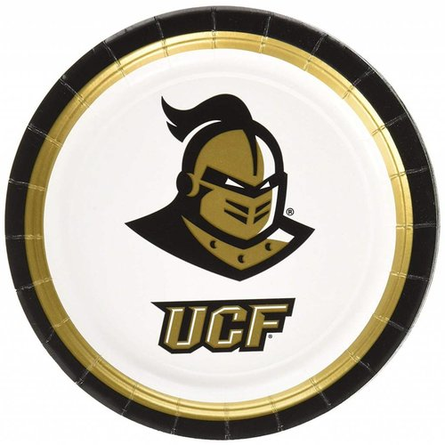 "*UCF Knights 7"" Dessert Plates 12ct"