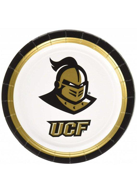 "***UCF Knights 7"" Dessert Plates 12ct"
