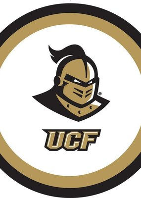 "***UCF Knights 9"" Dinner Plates 10ct"