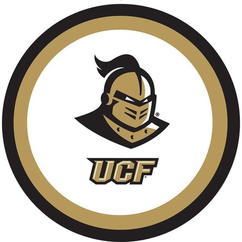 """*UCF Knights 9"""" Dinner Plates 10ct"""