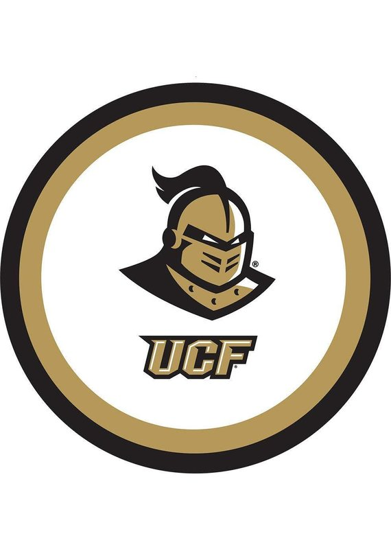 """***UCF Knights 9"""" Dinner Plates 10ct"""