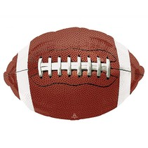 "*Football Shape Jumbo 31""x 20"" Balloon"