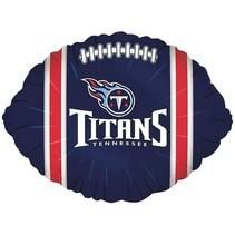 ***Tennessee Titans Football Shape Balloon
