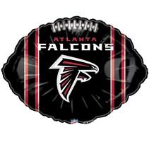 ***Atlanta Falcons Football Shape Balloon