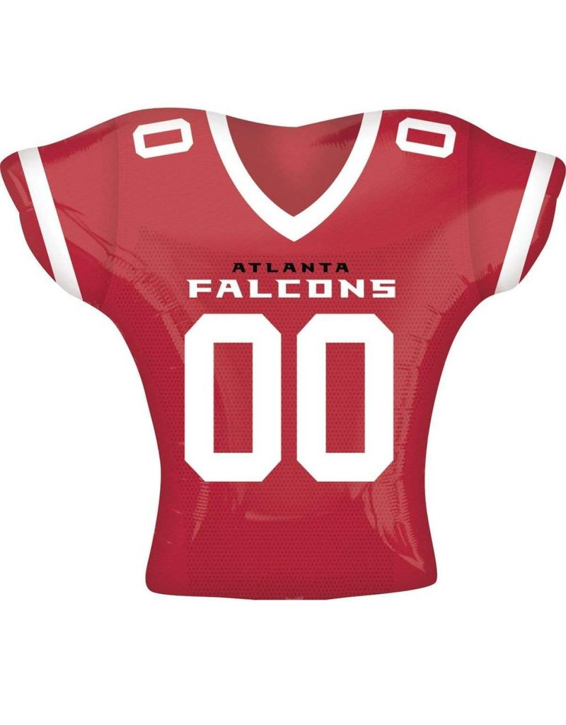 Atlanta Falcons Football Jersey Shape 24 Balloon Amys Party Store