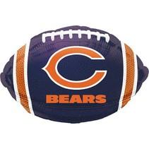 ***Chicago Bears NFL Football Shape Balloon
