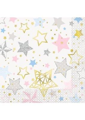 ****Twinkle Twinkle Little Star Luncheon Napkins