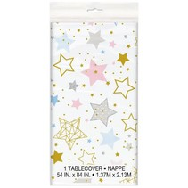 ***Twinkle Twinkle Little Star Rectangular Plastic Table Cover