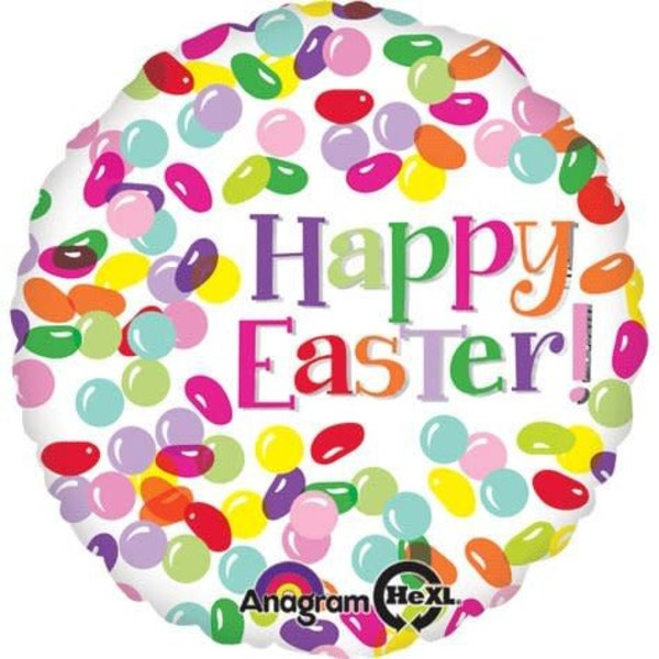 "*Easter Jelly Bean 18"" Mylar Balloon"