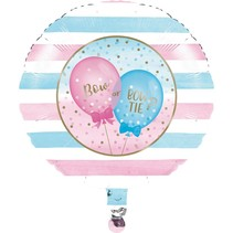 "***Gender Reveal Balloons 18"" Mylar Balloon"
