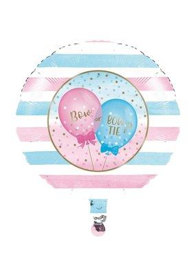 "***Gender Reveal Balloons 18"" Mylar Balloon"