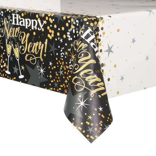 Glittering New Years Tablecover