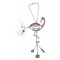 Single and Ready to Flamingle Car Charm