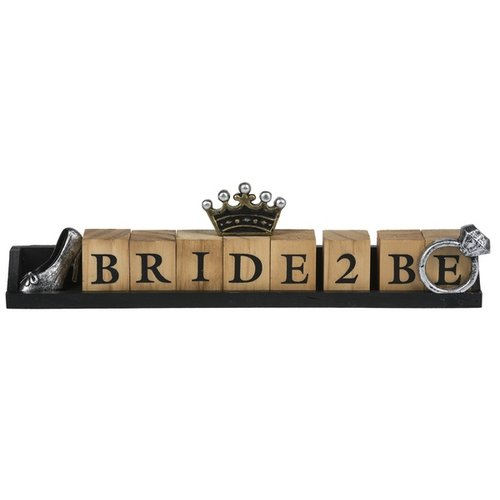 Bride to Be Desk Sign