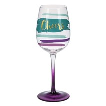 Cheers Stemmed Wine Glass