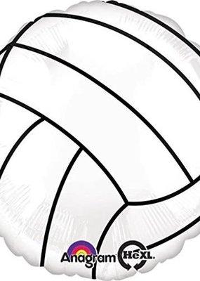 "***Volleyball 18"" Mylar Balloon"