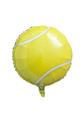 "*Tennis Ball 18"" Mylar Balloon"
