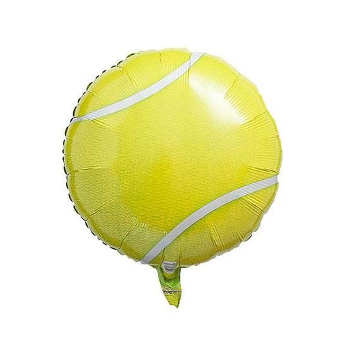 "*Tennis Ball 18"" Mylar Balloon"