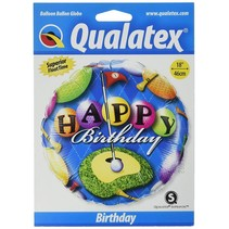 "*Happy Birthday Golf 18"" Mylar Balloon"