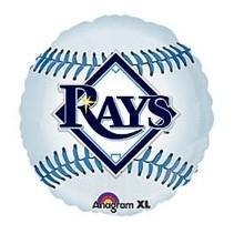 *Tampa Rays baseball mylar balloon