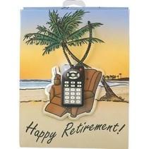 *Happy Retirement Medium Gift Bag