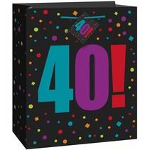 ***Birthday Cheer 40 Large Gift Bag